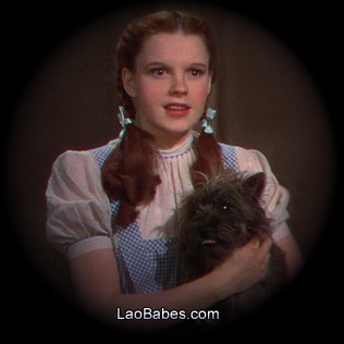 Judy Garland as Dorothy